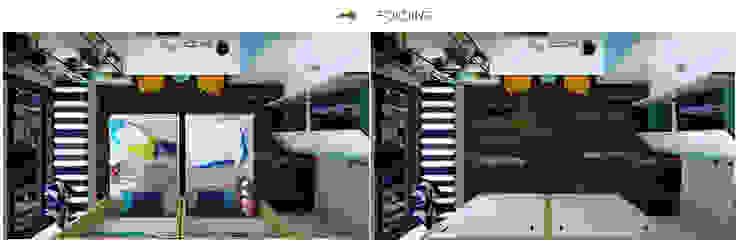 現代  by Công ty TNHH Thiết kế và Ứng dụng QBEST, 現代風