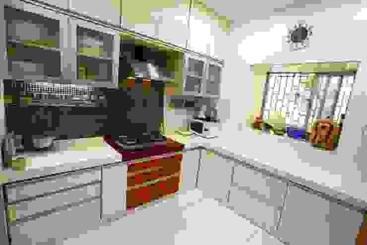 Basant Park - Chembur Modern kitchen by Aesthetica Modern