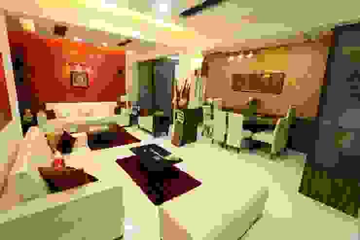 Basant Park - Chembur Modern living room by Aesthetica Modern