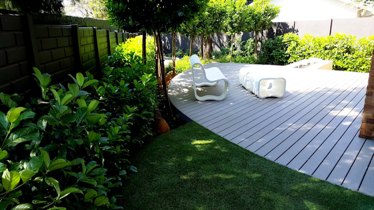 Lynnwood new outdoor space Modern Garden by Gorgeous Gardens Modern