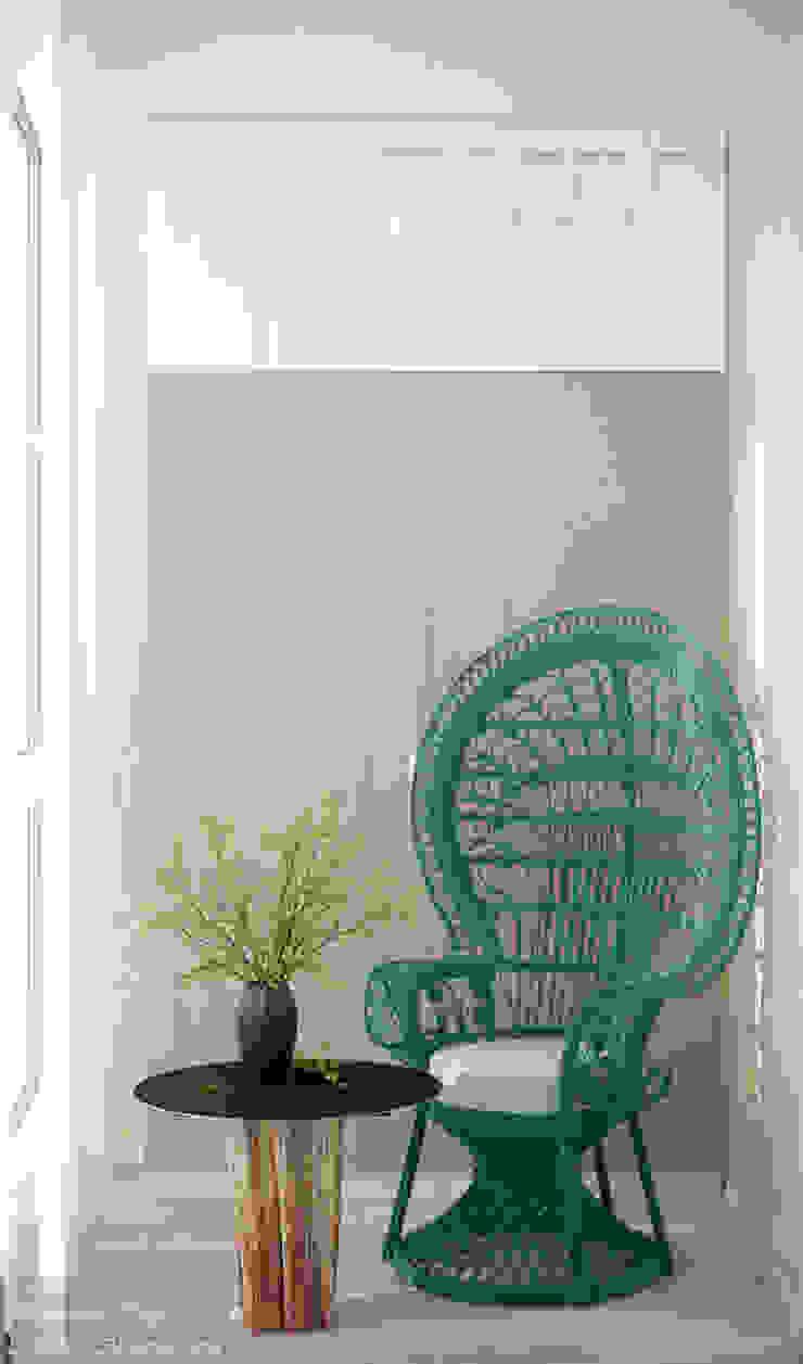Balkon, Beranda & Teras Minimalis Oleh Студия интерьерного дизайна happy.design Minimalis