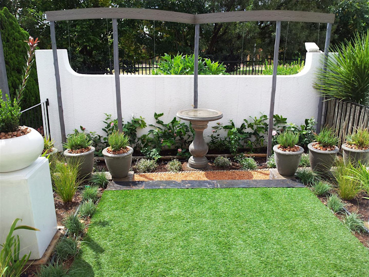 New garden for Kobus and Helet Storm Modern Garden by Gorgeous Gardens Modern