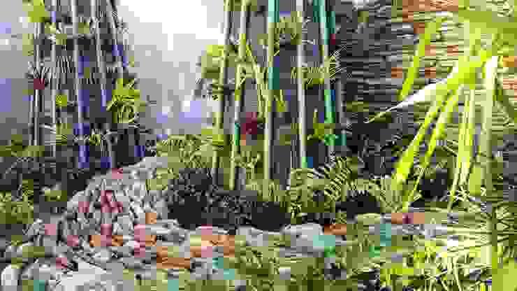 Jardines de estilo  por Gorgeous Gardens,