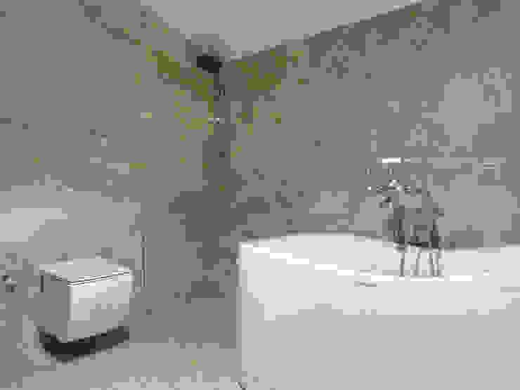 Üst Kat Banyo MİMPERA Klasik Banyo Seramik Gri