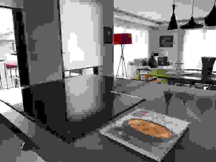Scandinavian style kitchen by MİMPERA Scandinavian Stone