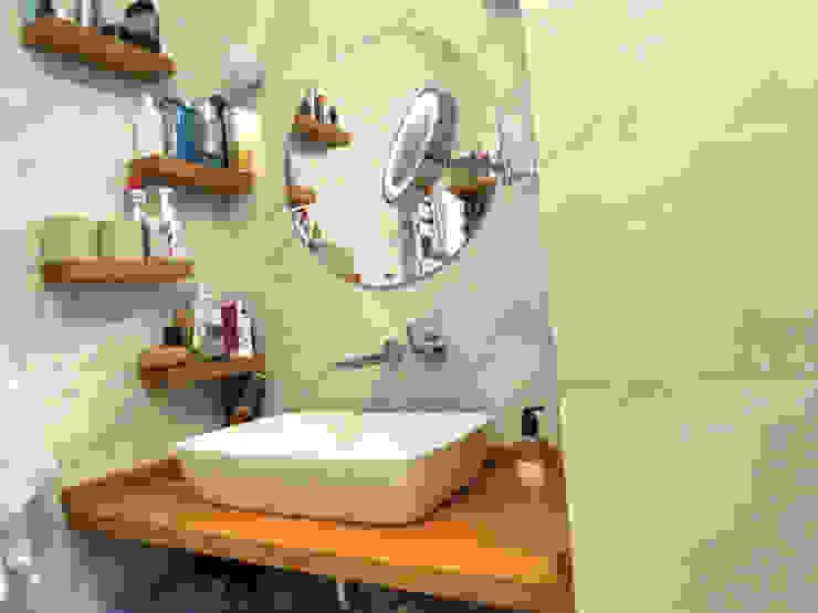 Scandinavian style bathroom by MİMPERA Scandinavian Ceramic