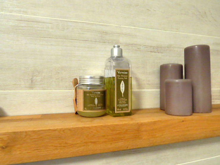 Scandinavian style bathroom by MİMPERA Scandinavian Wood Wood effect
