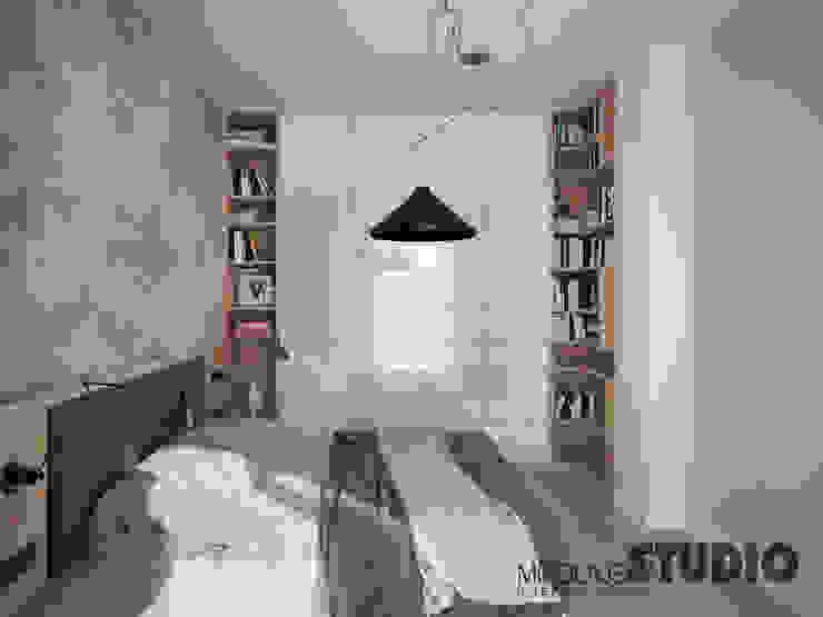 Modern style bedroom by MIKOŁAJSKAstudio Modern