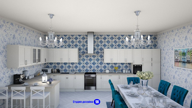 Kitchen in classic style by 'Design studio S-8' Classic