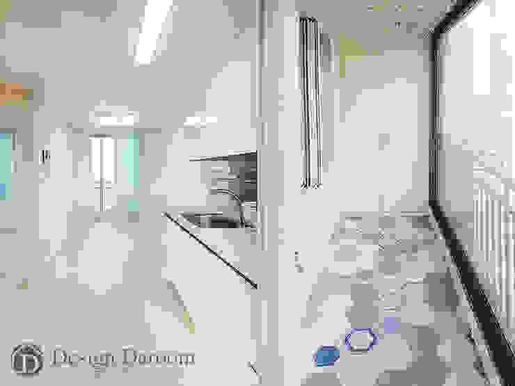 용두 신동아 아파트 21평형 거실 및 발코니 모던스타일 거실 by Design Daroom 디자인다룸 모던