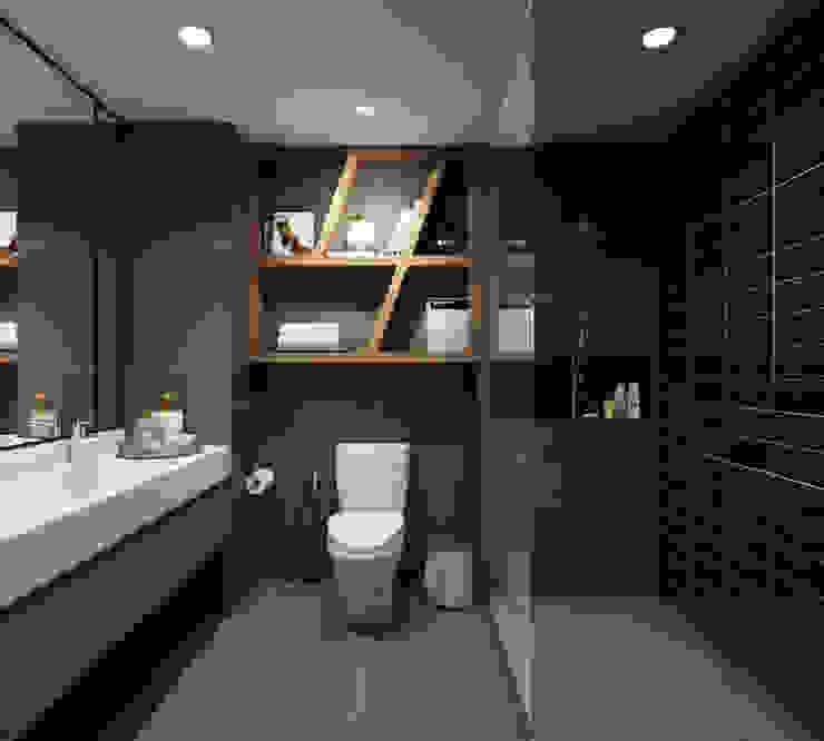 BATHROOM Modern bathroom by 22Augustudio Modern Ceramic