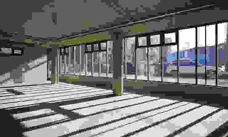 분당 이매동 주택 <Fragrant hill house> 모던스타일 서재 / 사무실 by 더 이레츠 건축가 그룹 모던