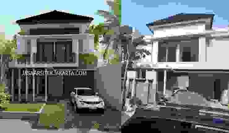 Rumah Bergaya Bali Modern di Cinere Studio JAJ Rumah Tropis