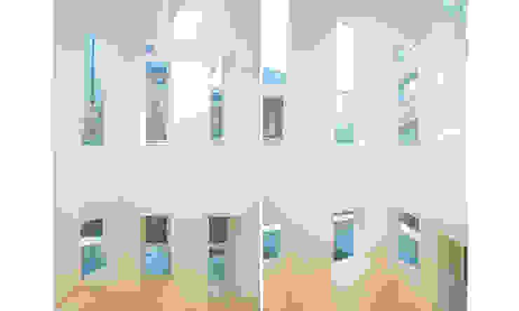 Finestre & Porte in stile moderno di 더 이레츠 건축가 그룹 Moderno