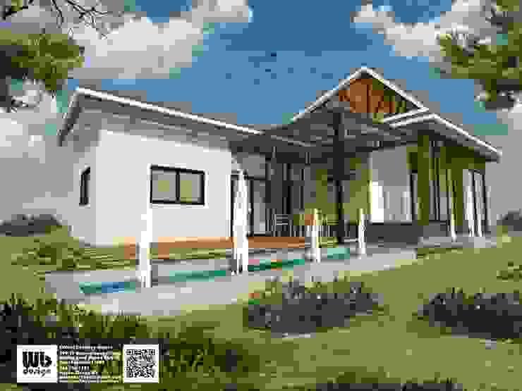 office exterior design: ทันสมัย  โดย Interior Design WB, โมเดิร์น