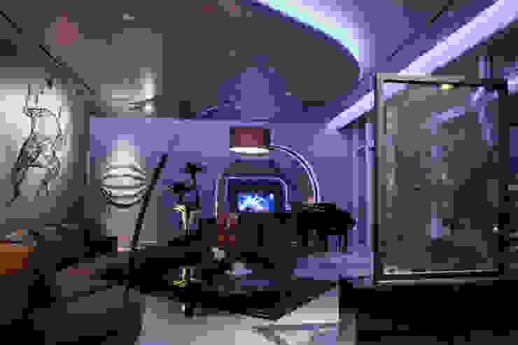 Living Room Ruang Keluarga Modern Oleh E&U Modern Batu Bata
