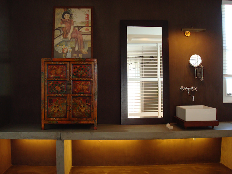 Vanity Eclectic style bathroom by Turquoise Eclectic