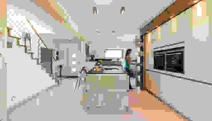 Nhà bếp phong cách hiện đại bởi KitzlingerHaus GmbH & Co. KG Hiện đại