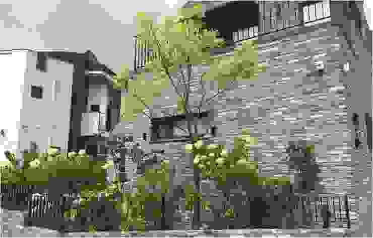 가드닝 프로젝트 – 2016. 은평 한옥마을 K씨 주택 아시아스타일 정원 by 가든디자인 뜰(garden design 뜰) 한옥