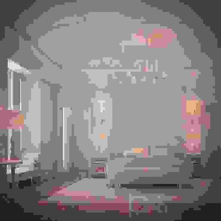 Patrician Classique Bedroom Design Minimalist bedroom by IONS DESIGN Minimalist Wood Wood effect