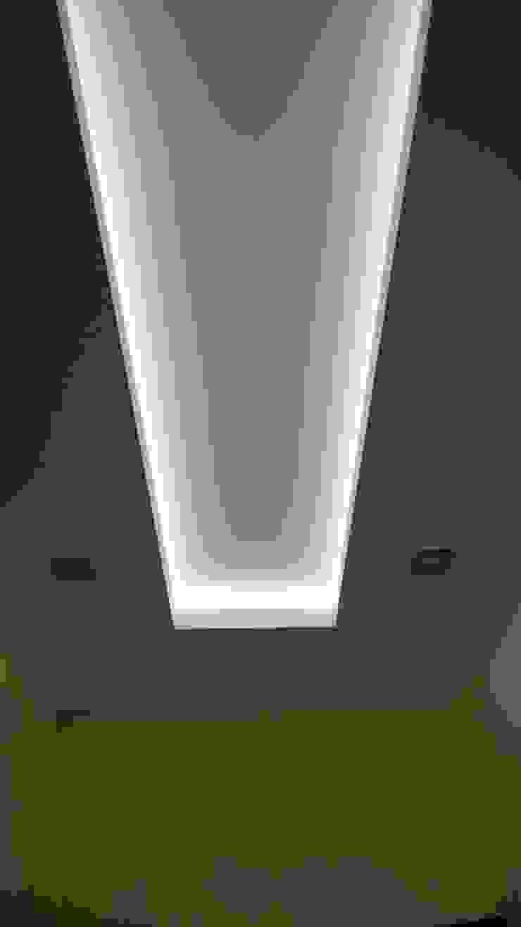 Modern Koridor, Hol & Merdivenler Студия интерьерного дизайна happy.design Modern