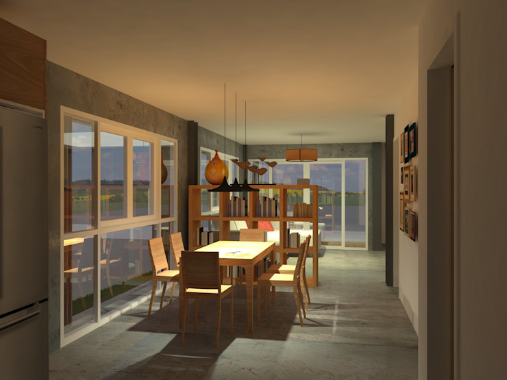 Sukhumvit 50 Residence โดย Aim Ztudio อินดัสเตรียล
