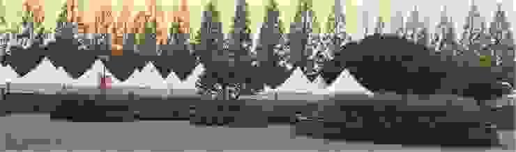 가드닝 프로젝트 – 2016. 고양시 호수공원 아시아스타일 정원 by 가든디자인 뜰(garden design 뜰) 한옥