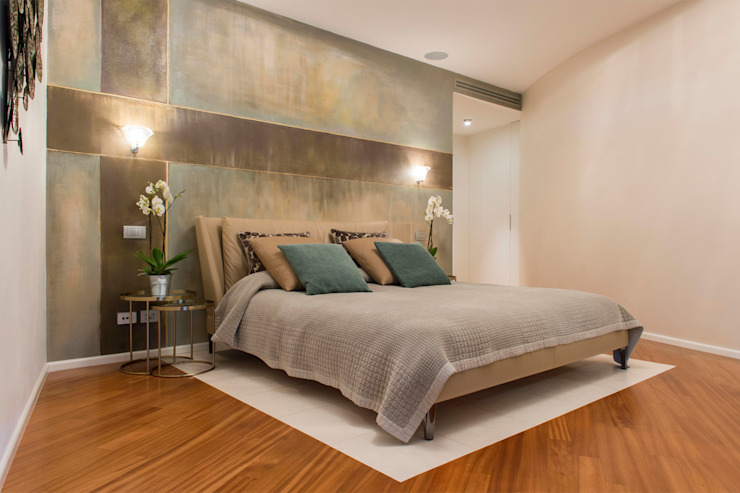 Modern style bedroom by Archifacturing Modern