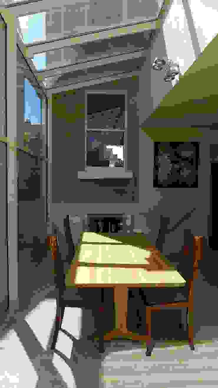 kitchen diner Style Within Moderner Wintergarten