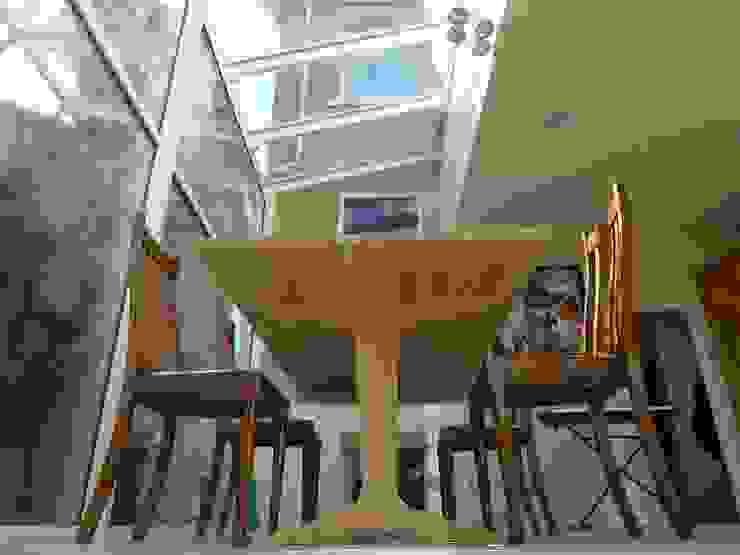 Kitchen diner in glass extension. Style Within Moderner Wintergarten Glas