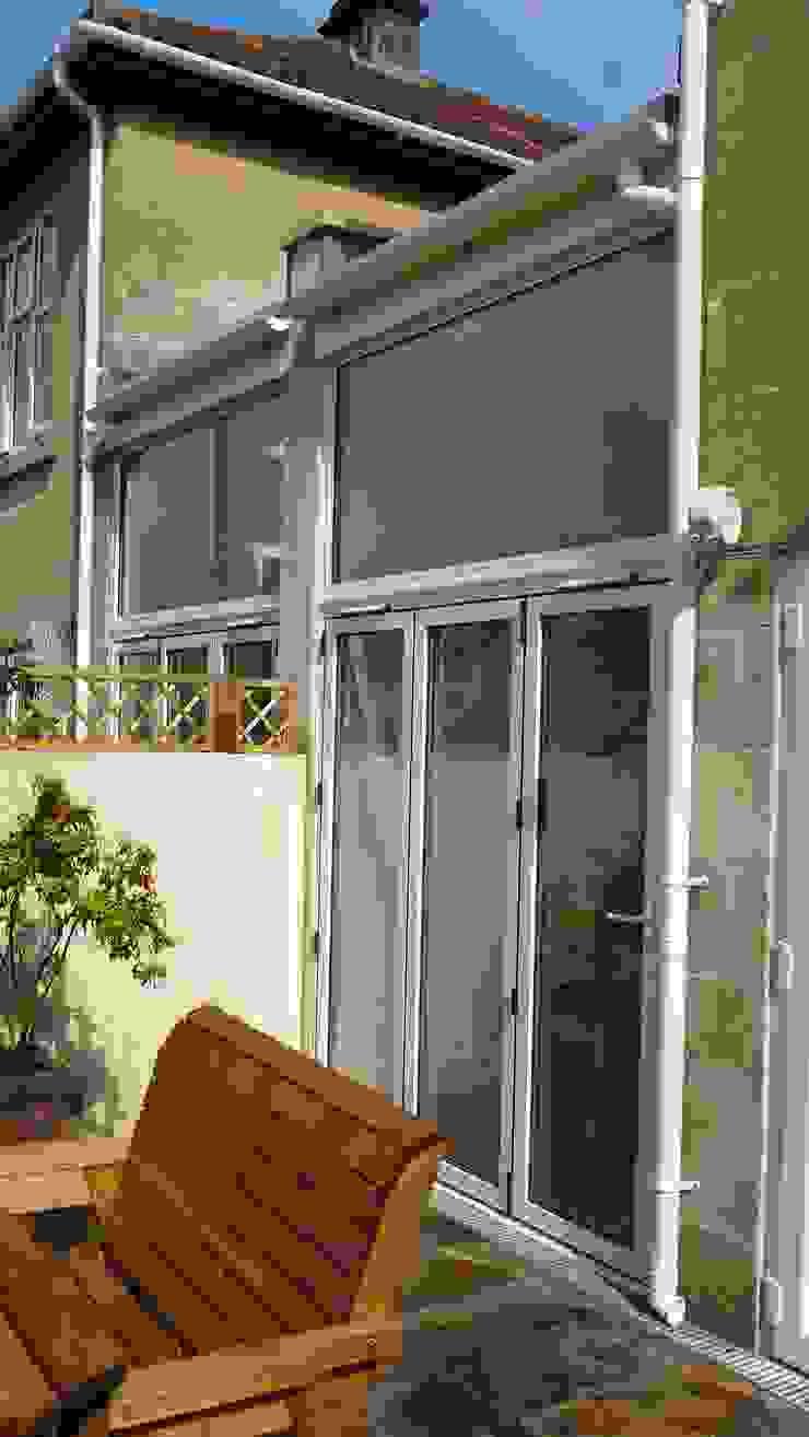 side return extension. Style Within Moderner Wintergarten Glas