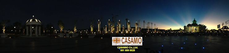 LANDSCAPE DESIGN PROJECT Classic style garden by CASAMIO Co.,Ltd. Classic