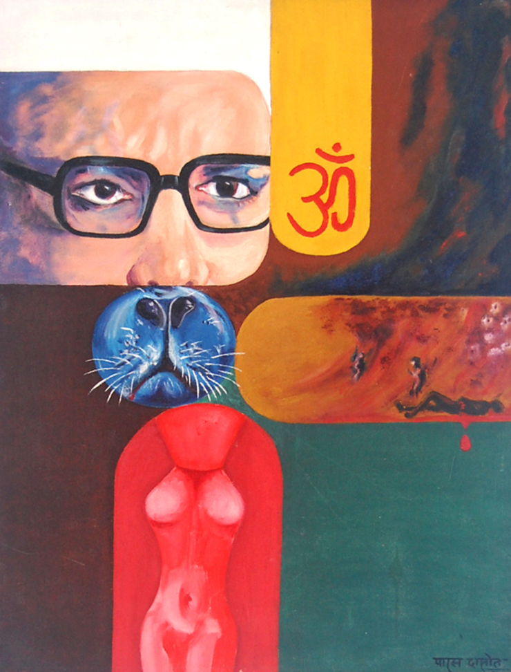 Religion and Politics: modern  by Indian Art Ideas,Modern
