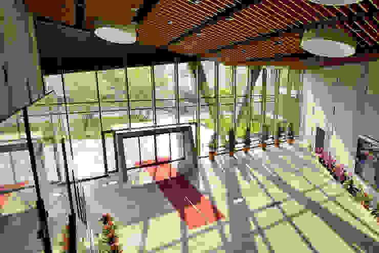 Puertas y ventanas de estilo industrial de 綠野國際建築師事務所 Industrial
