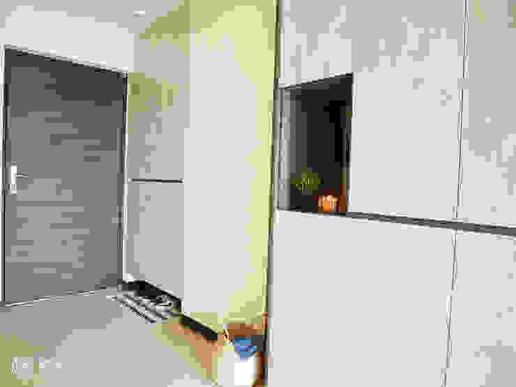 樂宅設計|林口合宜宅A7名軒快樂家|30坪新成屋裝修 根據 樂宅設計|系統傢俱