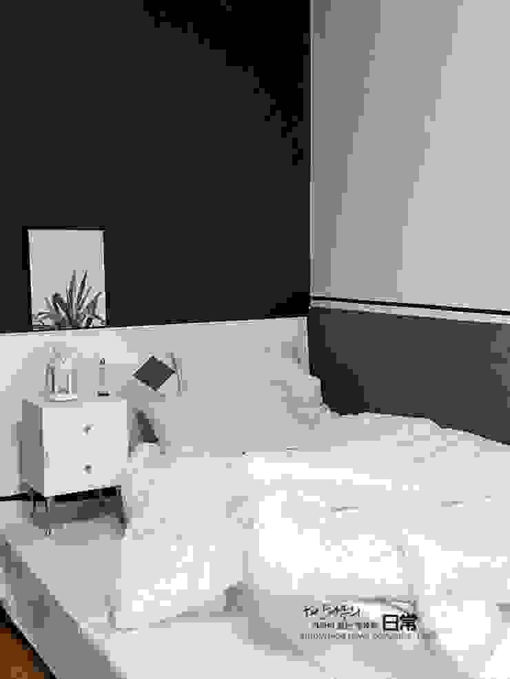 부부 침실 after 모던스타일 침실 by 하얀나무 모던