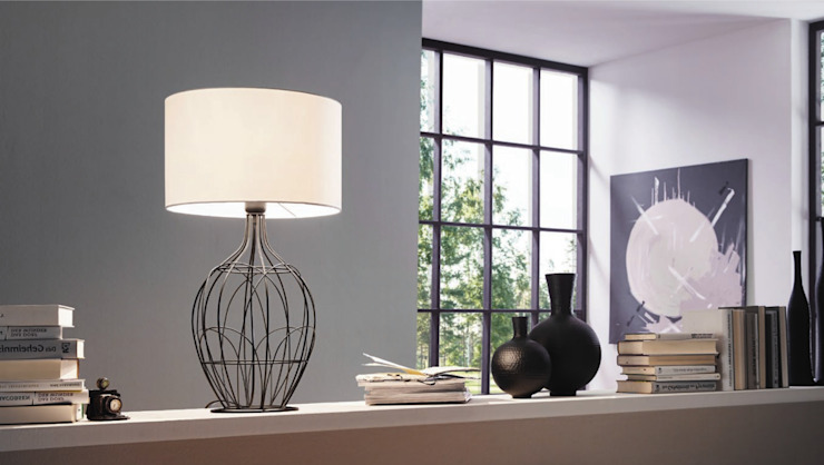 Lampa stojąca FAGONA od Mlamp Nowoczesny Matal