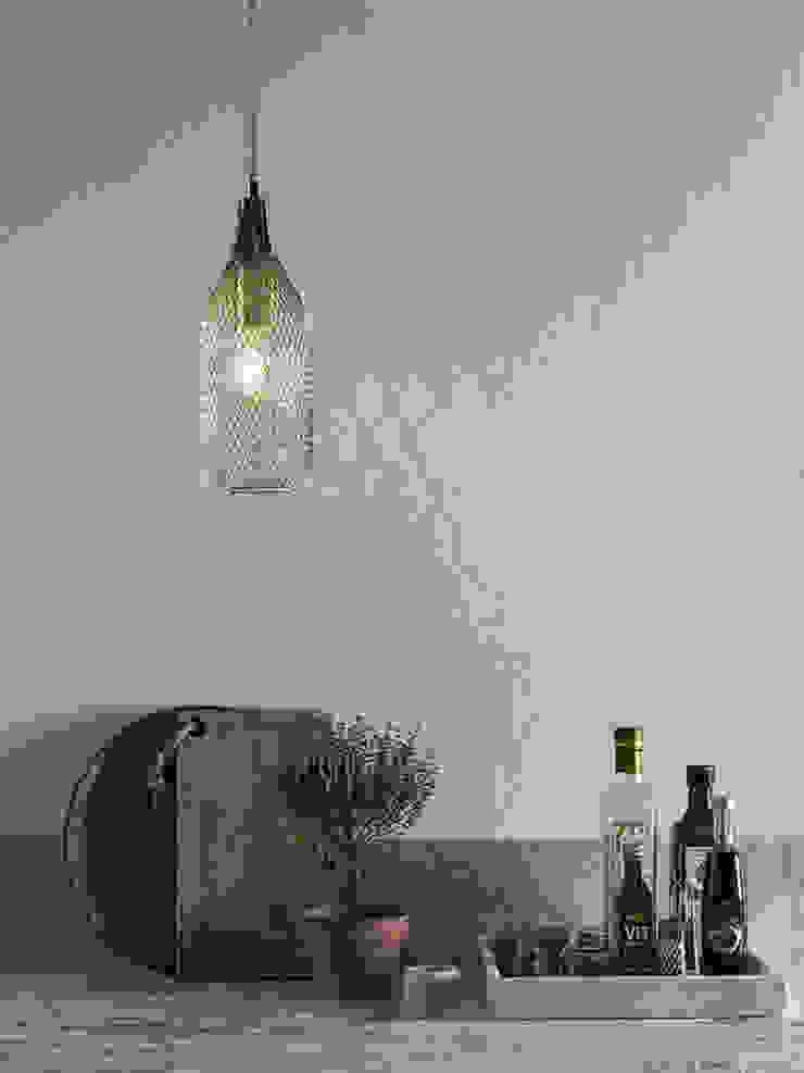 Lampa wisząca GRID od Mlamp Nowoczesny Matal