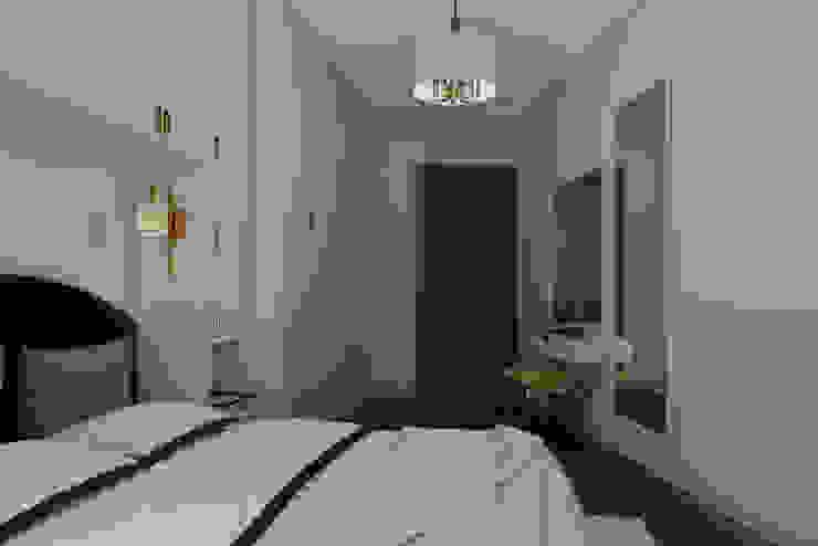 Nef03_Konut homify Modern Yatak Odası