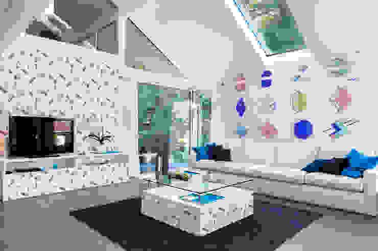 AMONG THE BLOCS AND FIGURES Pixers SalonAccessoires & décorations Multicolore