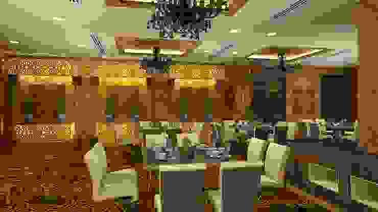 Banquet hall Mediterranean style event venues by Gurooji Designs Mediterranean