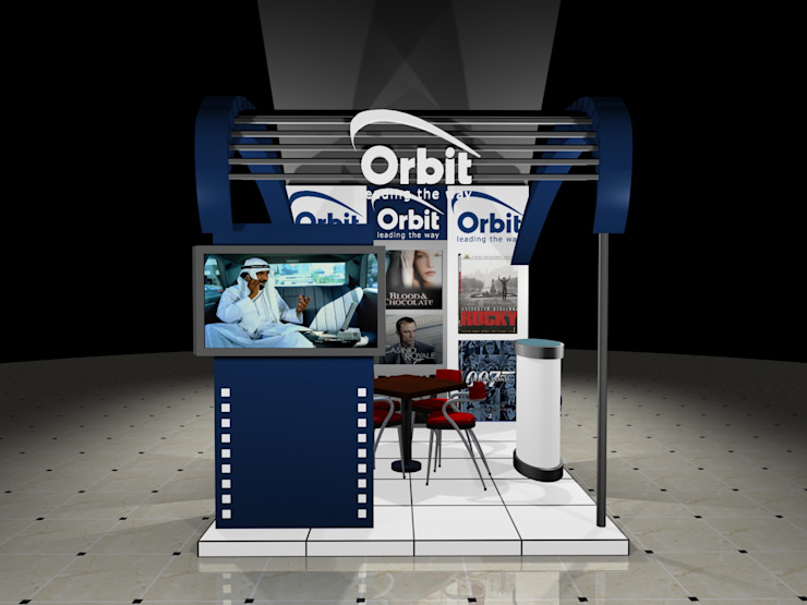 Retails space for Orbit by Gurooji Designs Modern