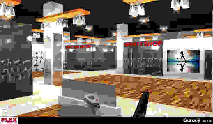 RAK Gym by Gurooji Designs Modern