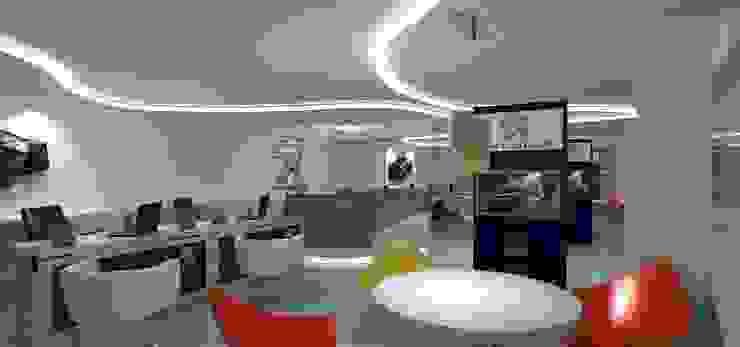 Peugeot Service station - SZR by Gurooji Designs Modern