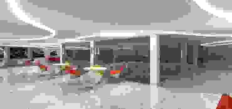 Peugeot Service station—SZR by Gurooji Designs Modern