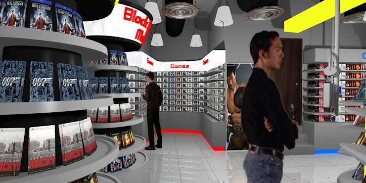 MGM Video Shop by Gurooji Designs Modern