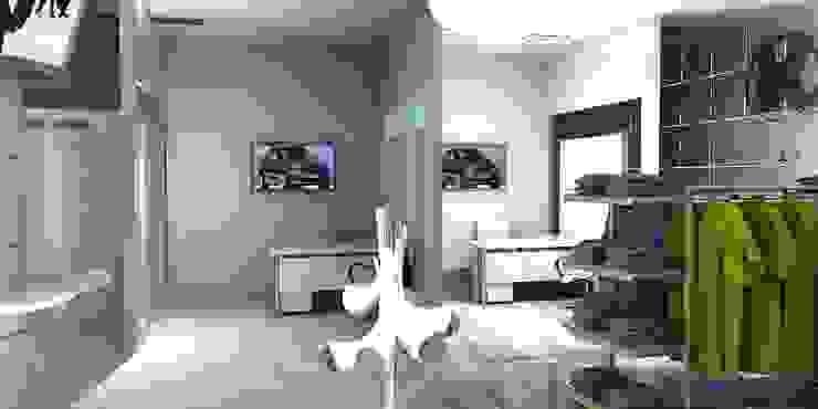 Agencias de autos de estilo moderno de Gurooji Designs Moderno