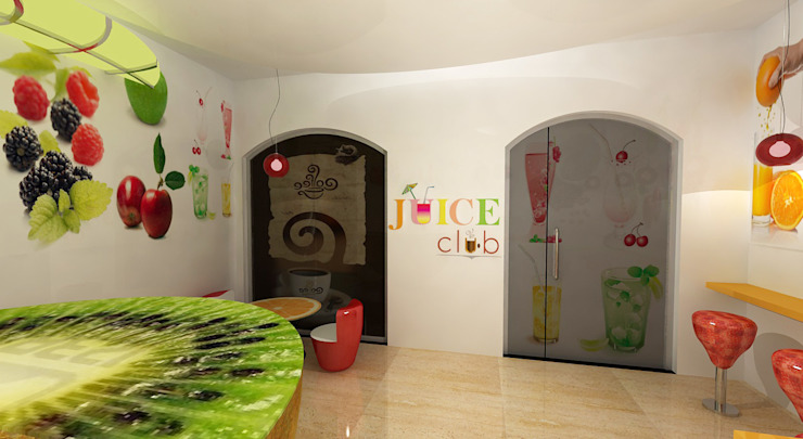 Juice Club by Gurooji Designs Modern