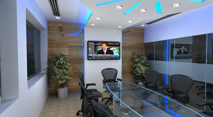 ICLP Meeting Room Gurooji Designs Modern offices & stores