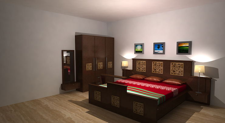 Crystal Furniture: asian  by Gurooji Designs,Asian